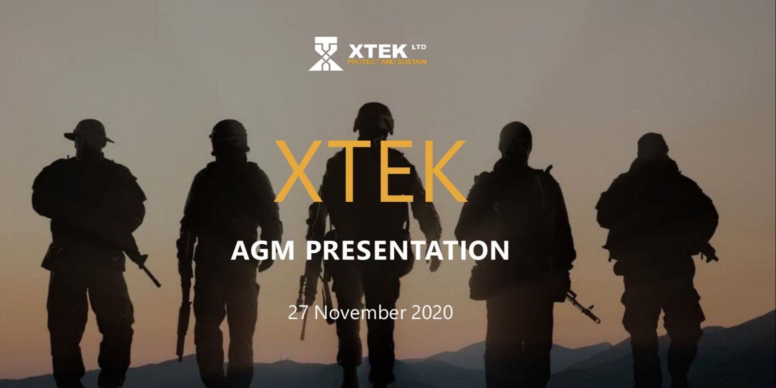 Xtek's share price strong on AGM update